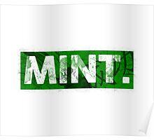 Mint.   Green Poster