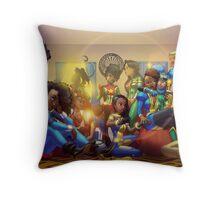 Caribbean Justice Ladies Lounge Throw Pillow
