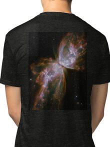 Butterfly, Nebula, HUBBLE, NASA, Telescope, Astronomy, Star cluster, Tri-blend T-Shirt