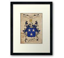 Murray Coat of Arms (Ireland) Framed Print