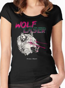 Wolf Laser Women's Fitted Scoop T-Shirt