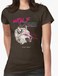 Wolf Laser Womens Fitted T-Shirt