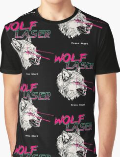 Wolf Laser Graphic T-Shirt