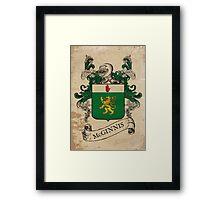 McGinnis Coat of Arms (Ireland) Framed Print