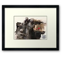 3-156 Infantry BN Framed Print