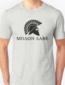 Molon lave - Spartan warrior Unisex T-Shirt