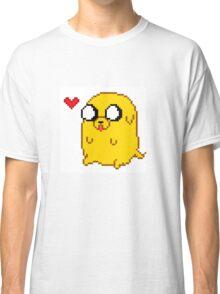 Pixelated Jake the Dog Classic T-Shirt