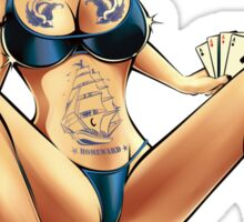 HOMEWORD PIN-UP Sticker