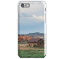 Utah Cabin iPhone Case/Skin