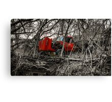 Montreal West side abadoned truck  Canvas Print