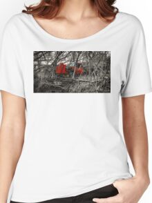 Montreal West side abadoned truck  Women's Relaxed Fit T-Shirt