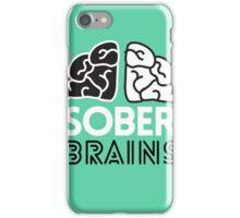 SoberBrains LOGO iPhone Case/Skin