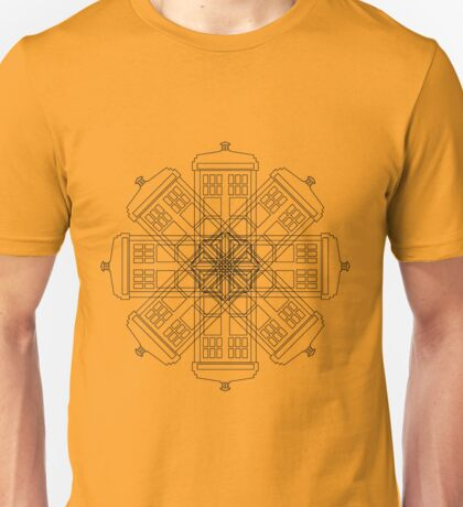 Tardis Flower Unisex T-Shirt