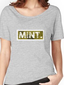 Mint. | Yellow Women's Relaxed Fit T-Shirt