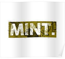 Mint.   Yellow Poster