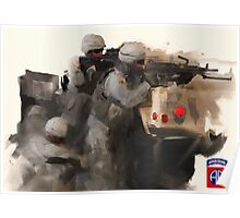 82nd Firefight Poster