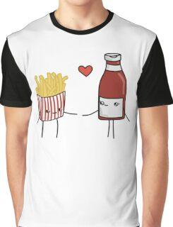 Chips and Ketchup Graphic T-Shirt