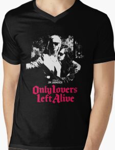 ONLY LOVERS LEFT ALIVE - JIM JARMUSCH Mens V-Neck T-Shirt