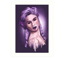 Purple Pleasure Art Print
