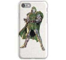Dr. Doom Digital Watercolor  iPhone Case/Skin