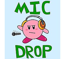 Kirby Drops Da Mic!  Photographic Print