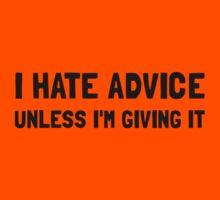 Hate Advice Kids Tee