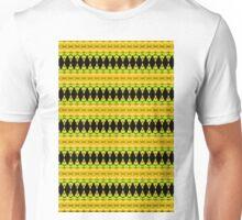 Black Diamonds on Gold Unisex T-Shirt