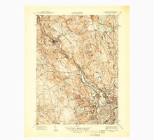 USGS TOPO Map Rhode Island RI Pawtucket 353437 1944 31680 Unisex T-Shirt