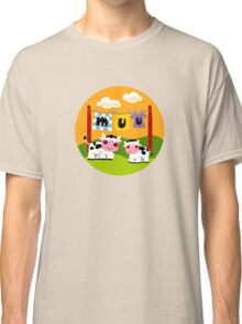 Two Cows Classic T-Shirt
