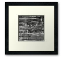 Simply Contrast 2 Study In Black and White Framed Print