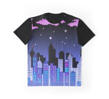 Pixel City Graphic T-Shirt