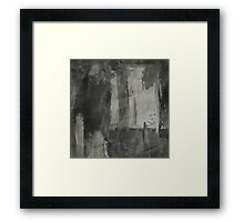 Simply Contrast 3 Study In black And White Framed Print