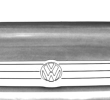 vw, vw jetta Sticker
