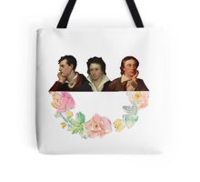 The Romantic Trio Tote Bag
