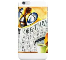 Obeetuaries iPhone Case/Skin