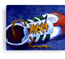Shoeless Canvas Print
