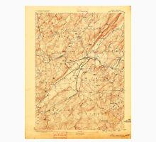 USGS TOPO Map New Jersey NJ Lake Hopatcong 255229 1888 62500 Unisex T-Shirt