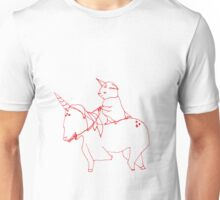 Yoda and unicorn Unisex T-Shirt