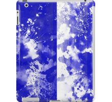 Inverted Blue On White iPad Case/Skin