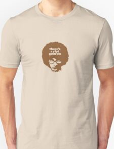 There's a riot goin' on (brown) Unisex T-Shirt