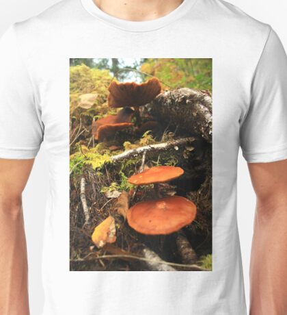 Mushroom Stack Unisex T-Shirt