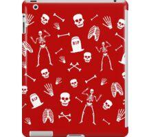 Skeleton Dance in Red iPad Case/Skin