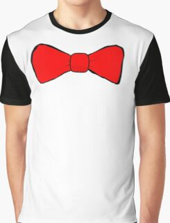 Red Bow Tie Graphic T-Shirt