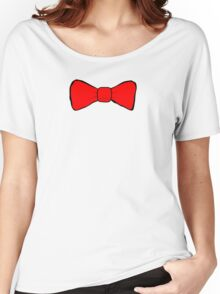 Red Bow Tie Women's Relaxed Fit T-Shirt