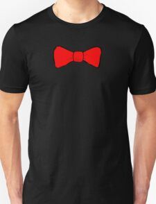 Red Bow Tie Unisex T-Shirt