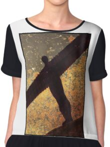 Angel Of The North Chiffon Top