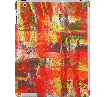 Burning Fire Abstract Painting iPad Case/Skin