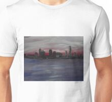 Detroit Skyline in early evening Unisex T-Shirt