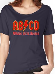 ABC a heavy metal parody funny Women's Relaxed Fit T-Shirt