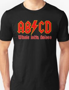 ABC a heavy metal parody funny Unisex T-Shirt